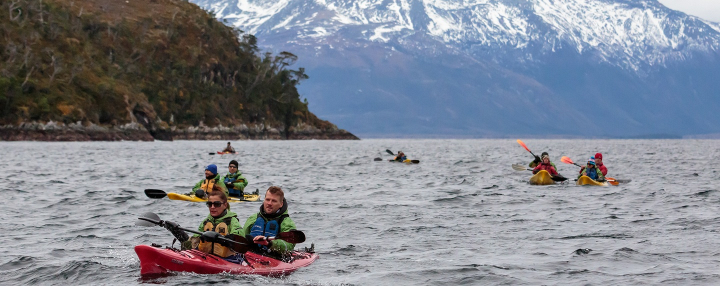 Patagonia Chile @Experiencias KAYAKING